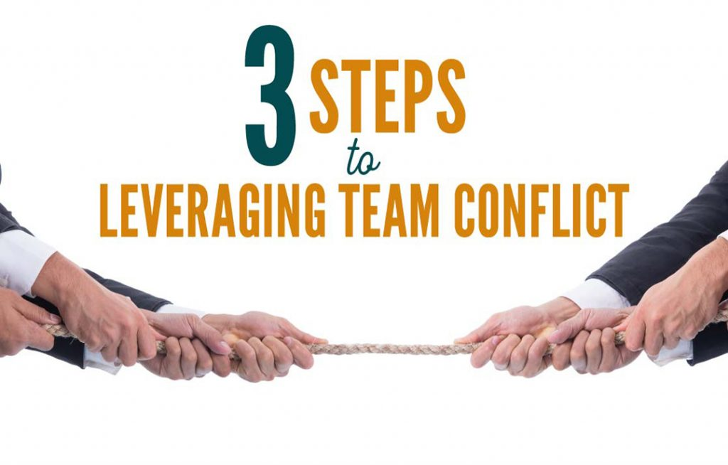 3 Steps to Leveraging Team Conflict