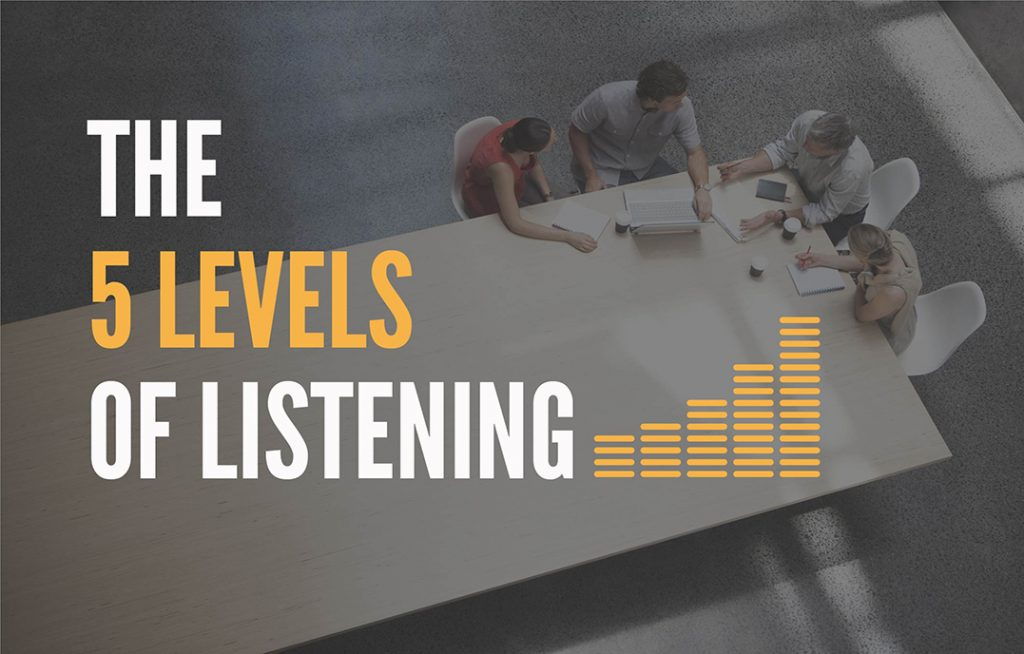 The 5 Levels of Listening