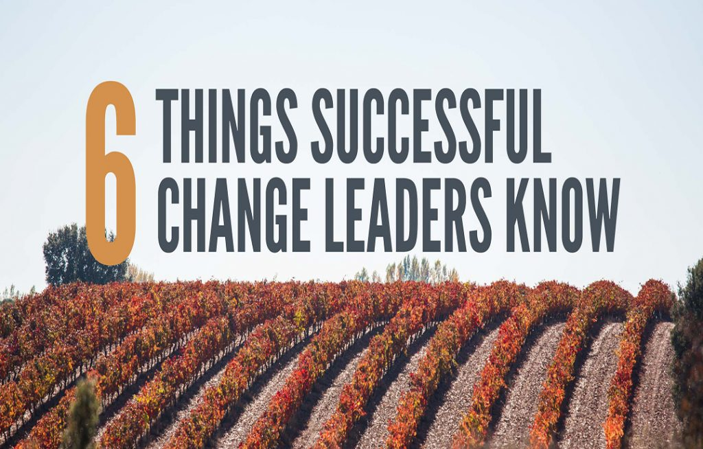 6 Things Successful Change Leaders Know