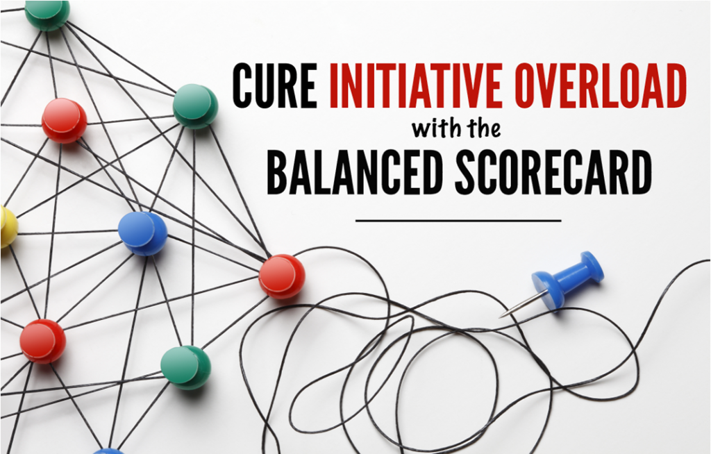Cure Initiative Overload with the Balanced Scorecard