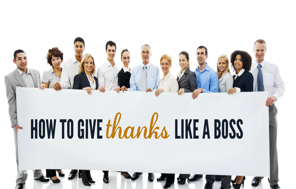 How to Give Thanks Like a Boss